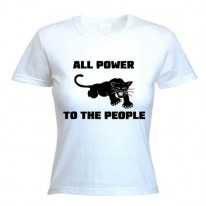 Black Panther Power To The People Women's T-Shirt