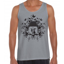 Buddha Butterflies Buddhist Men's Tank Vest Top