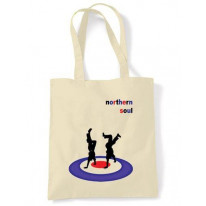 Northern Soul Dancers Shopping Bag