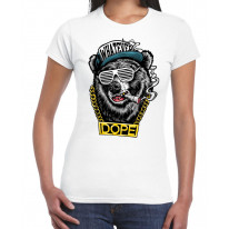 Hip Hop Dope Bear Women's T-Shirt