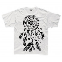 Dreamcatcher Native American Hipster Large Print Kids Children's T-Shirt