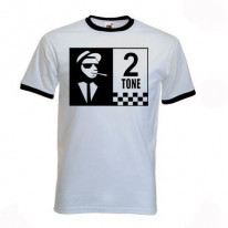 2 Tone Contrast Ringer T-Shirt