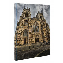 York Minster Yorkshire Canvas Print Wall Art - Choice Of Sizes