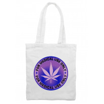 Marijuana Medical Use Only Cannabis Tote Shoulder Shopping Bag
