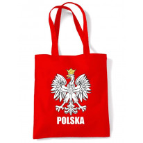 Polish Eagle Polska Flag  Tote \ Shoulder Bag
