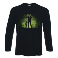 Zombie Graveyard Long Sleeve T-Shirt