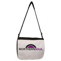 Northern Soul Vinyl Logo Laptop Messenger Bag
