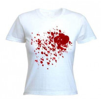 Blood Splatter Fancy Dress Women's T-Shirt