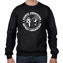 Animal Liberation Human Liberation Men's Sweatshirt Jumper