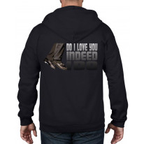 Northern Soul Indeed I Do Northern Soul Dancing Shoes Full Zip Hoodie