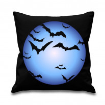 Bats and Full Moon Scatter Cushion