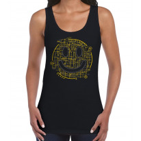 Electric Smiley Acid Face Women's Tank Vest Top