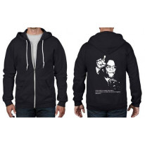 Malcolm X Quote Full Zip Hoodie