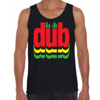 Dub Reggae Logo Men's Tank Vest Top