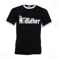 The Modfather Ringer Style T-Shirt