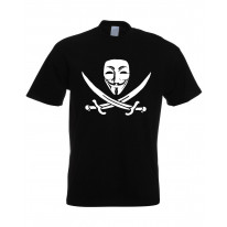 Anonymous Skull & Crossbones T-Shirt