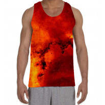 Star Clusters Men's All Over Graphic Vest Tank Top