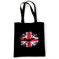 Union Jack Lips Shoulder Bag