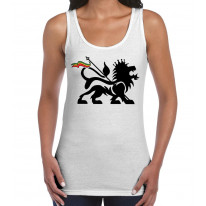 Lion Of Judah Reggae Women's Tank Vest Top