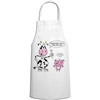 Don't Stick A Fork In My Ass Vegetarian Kitchen Apron