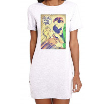 Just Give Me The Weed Weedman Cannabis Women's Short Sleeve T-Shirt Dress
