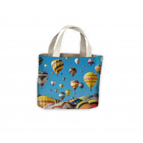 Hot Air Balloons Tote Shopping Bag For Life