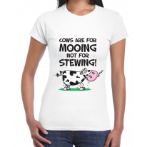 Vegetarian Cows Are For Mooing Women's T-Shirt