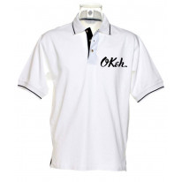 Okeh Records Tipped Polo T-Shirt