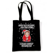 Mrs Browns Boys Turkey's Ass Funny Christmas Shoulder Bag
