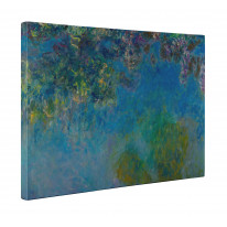 Claude Monet Wisteria Canvas Print Wall Art - Choice Of Sizes