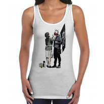 Banksy Punk Mum Women's Tank Vest Top