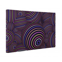 Abstract Spheres Box Canvas Print Wall Art - Choice of Sizes