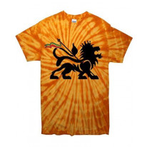 Lion Of Judah Tie Dye Reggae T-Shirt