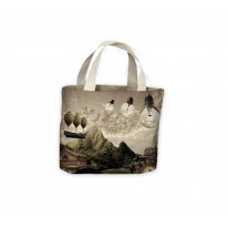 Steampunk Dreamland Tote Shopping Bag For Life