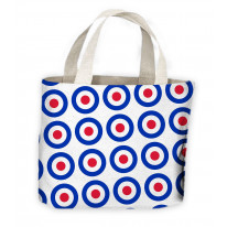 Mod Target Tote Shopping Bag For Life