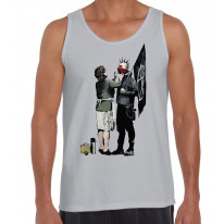Banksy Punk Mum Men's Tank Vest Top