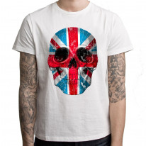 Union Jack Skull Men's T-Shirt