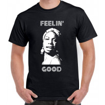 Nina Simone Feelin' Good Men's T-Shirt
