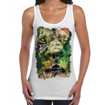 Lion of Judah Zion Reggae Large Print Women's Vest Tank Top