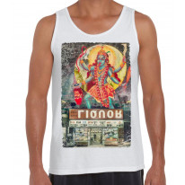 Kali Hindu Goddess Large Print Men's Tank Vest Top