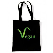 Vegan Logo Shoulder Bag