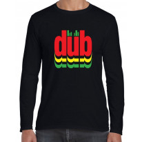 Dub Reggae Logo Long Sleeve T-Shirt