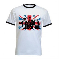The Clash Contrast Ringer T-Shirt