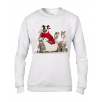 Jack Russell Dog Santa Claus Christmas Women's Jumper \ Sweater