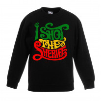 I Shot The Sheriff Reggae Children's Unisex Sweatshirt Jumper