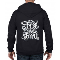 Free As a Bird Full Zip Hoodie