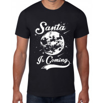 Santa Is Coming Father Christmas Men's T-Shirt