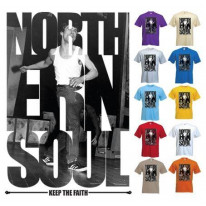 Northern Soul Keep The Faith Photos T-Shirt