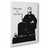 Aleister Crowley Law Is For All Box Canvas Print Wall Art - Choice of Sizes
