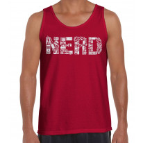 Nerd Logo Men's Vest Tank Top